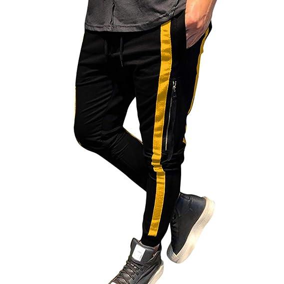 Pantalones de chándal elásticos para Hombre Leggings Deportivos de ...