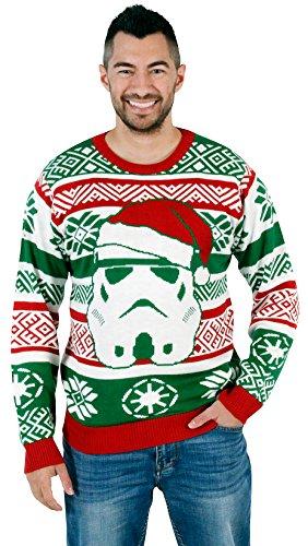 Star Wars Santa Stormtrooper Ugly Christmas Sweater