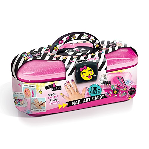 Only 4 Girls Nail Art Caddy Set, Multi