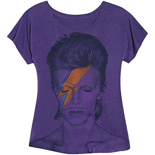 Impact David Bowie aladdin sane ladies dolman shirt