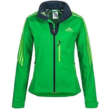Adidas sportjacke grun