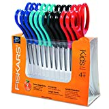 Fiskars Children's Blunt Safety Scissors 12 Pack, 5-Inch, Colors Vary Deal