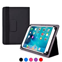Asus Transformer Pad TF502 / TF701T / LTE TF303CL case, COOPER INFINITE ELITE Protective Rugged Shockproof Carrying Universal Portfolio Case Cover Folio Holder with Built-in Stand (Black)