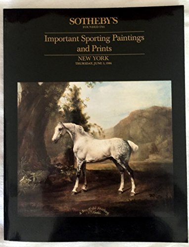 Important Sporting Paintings and Prints June 5, 1986