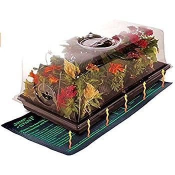 Durable Waterproof Seedling Heat Mat Warm Hydroponic Heating Pad Pet Warming Mat 120V L: 20.47''x 47.64''