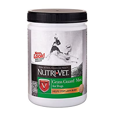 Nutri-Vet Grass Guard Max with Probiotics and Digestive Enzymes