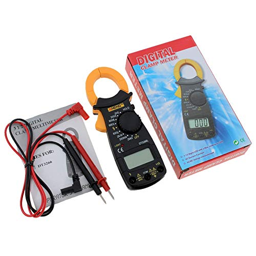 ANENG DT3266L Digital Clamp ammeter AC DC Ammeter Multimeter Voltmeter 400A Electronic Clamp meter Diode Fire Wire Tester (400a Clamp Digital)