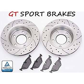 GT SPORT BRAKE DISCS GT0242 + PADS SEAT IBIZA V (6J5) SPORTCOUPE (6J1