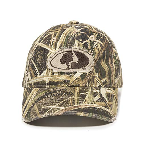 Mossy Oak Shadow Grass Ducks Unlimited Edition Frayed Patch Logo Hunting Hat