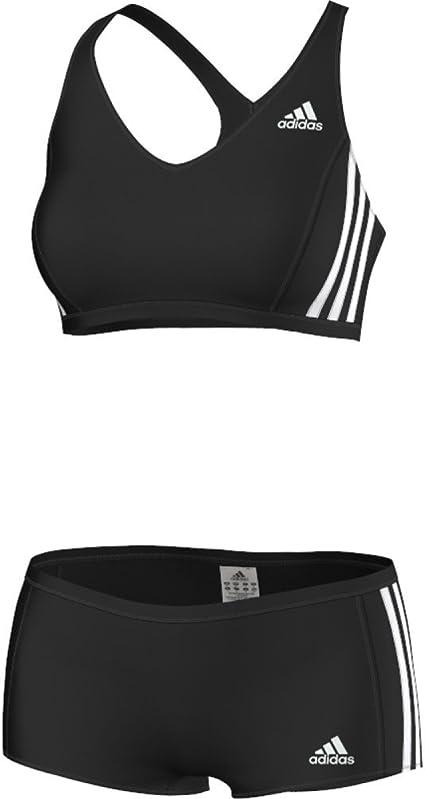 adidas Infinitex 3 Stripes Maillot de bain 2 pièces Femme