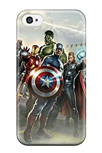 New NiQeCzg1065fGqeW The Avengers 30 Tpu Cover Case For Iphone 4/4s