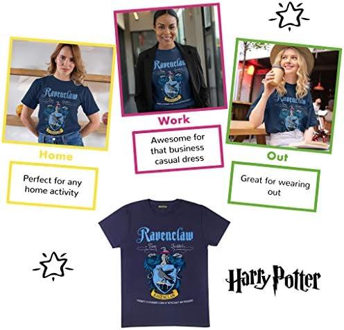 Harry Potter Ravenclaw Crest damski Freund Fit T-Shirt   oficjalny produkt: Odzież