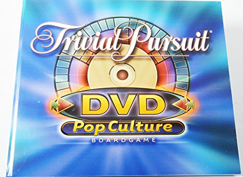 Trivial Pursuit Pop Culture Replacement Game DVD (Game Dvd Pursuit Trivial)