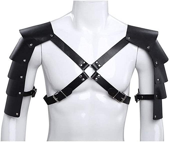 Punk de arnés de cuerpo de la correa Trajes de armadura Guardia ...