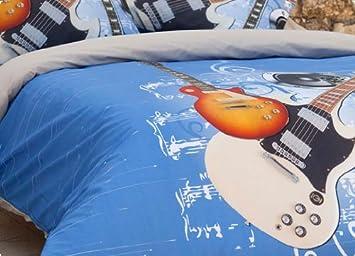 Estela  Juego funda nórdica guitarra(diferentes medidas): Amazon