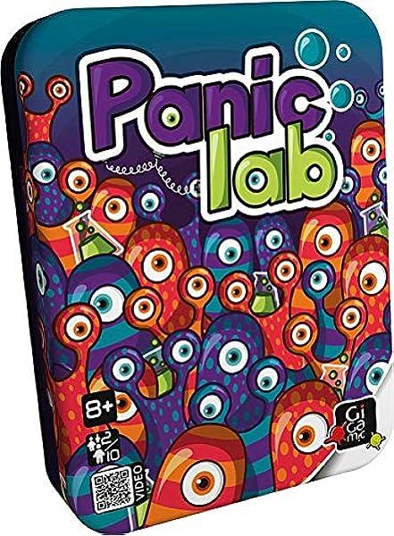 GIGAMIC PLB - Panic Lab, Juego de Mesa: Amazon.es: Juguetes y juegos