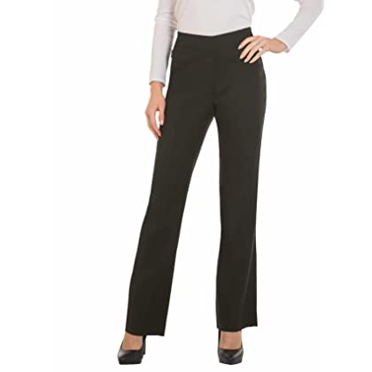 1f6ffd1bf057d Red Hanger Bootcut Dress Pants for Women -Stretch Comfy Work Pull on Womens  Pant Olive-S