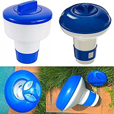 5 inch Mini Floating Tablet Spa Chemical Dispenser,Spa/Hot Tub/Pool Tools,Tuscom