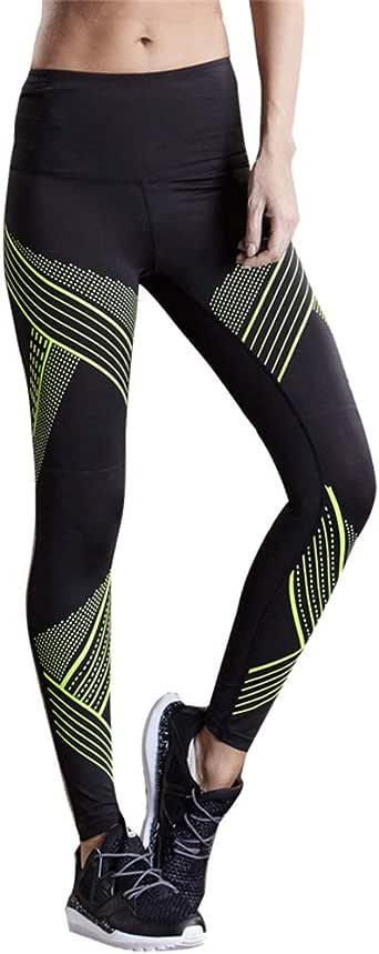 Amazon Com  All Like 2020 Striped Sports Leggings Women