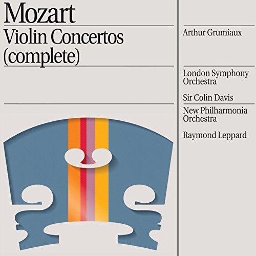 Mozart: Violin Concertos (Complete) Complete Violin Concertos Cd