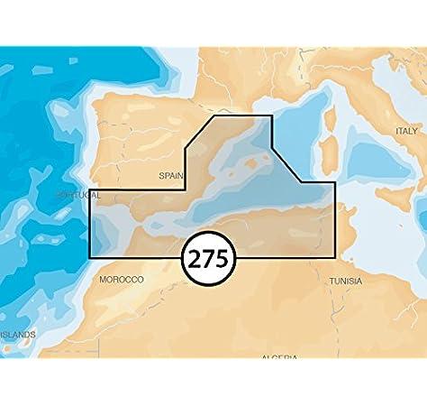 Navionics MicroSD Platinum XL 5P275 Mediterráneo Suroeste: Amazon.es: Electrónica