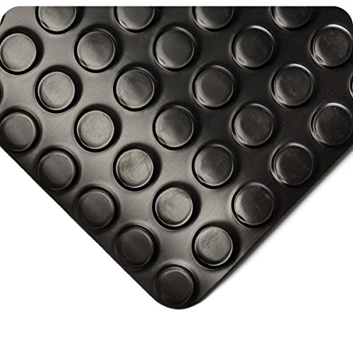 Radial Runner 3- x 11- Black Floor Mat