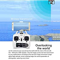 Hanbaili X52 Drone with Camera for Beginners,A Key to Take Off 3D Flips Cool Lights Quadcopter Flying toys for Kids
