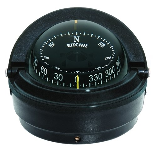 RITCHIE Ritchie S-87 Voyager Compass - Surface Mount - Black / S-87 / by Ritchie (Image #1)