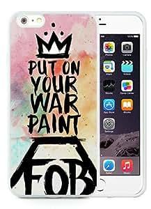 Custom Best Design phoenix fall out boy White TPU iPhone 6 Plus(5.5 inch) Case