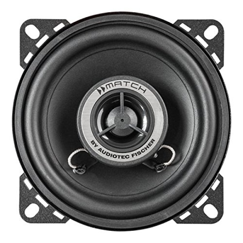 Neodymium Tweeters Magnet - Match Helix Ms4X 2-Way Coaxial System 100 Mm Subwoofer, 20 Mm Wide Dome Tweeter With Neodymium Magnet Ms 4X