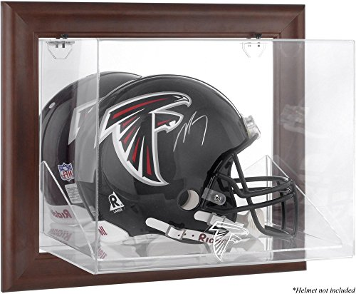 Mounted Memories Atlanta Falcons Brown Helmet Display Case by Mounted Memories