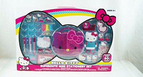 (Hello Kitty Super Cute Mini Stationery Set)