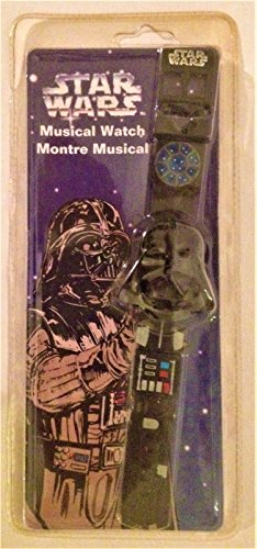 Lcd Package - Star Wars 1997 Canada Exclusive Darth Vader LCD Watch Vader Package