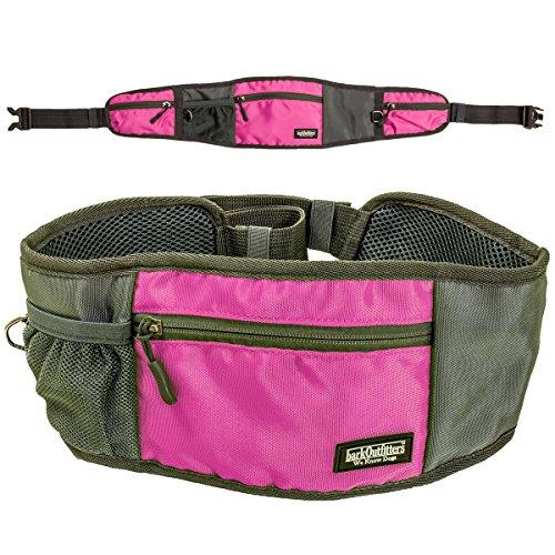 barkOutfitters Dog Treat Belt Multiple Zippered