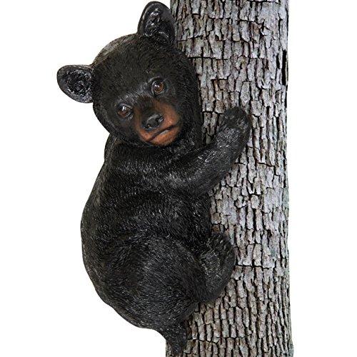 Best Choice Products Little Bear Cub Tree Hugger Garden Peeker Outdoor Sculpture ()