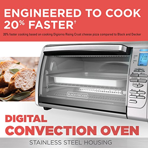 Countertop Convection Oven For Cookies : ... Stainless Steel Countertop Convection Oven, Silver - Cookie Oven