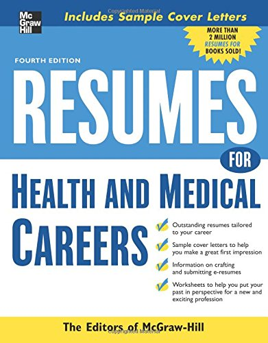Resumes for Health and Medical Careers pdf