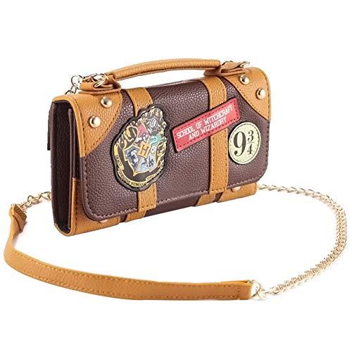 Mallalah Y Harry Corto 5x11x4 Hombro Señoras Potter Bolso Marrones Las Cadena Hogwarts Hybrid Con 5cm Mini 18 Bolsos De rF5wrnUXqx