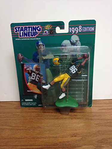 (Antonio Freeman Green Bay Packers NFL SLU Action Figure with Trading Card)