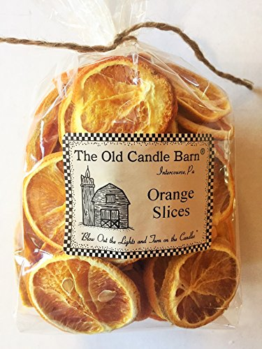 - Dried Orange Slices For Crafting, Potpourri, or Decorative Bowl Filler - Large 4 Cup Bag