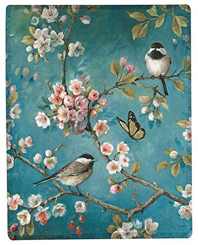KensingtonRow Home Collection Throws - Imperial Garden Throw Blanket - 50