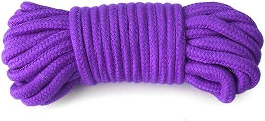 Amyove 3 Piezas de esclava Sexy de algodón Suave Cuerda Bondage ...