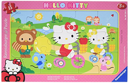 Ravensburger 06218 - Hello Kitty auf Fahrradtour