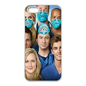Scrubs iPhone 5 5s Cell Phone Case White DIY gift pp001-6426316