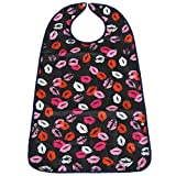 MagiDeal PVC Waterproof Adult Mealtime Bibs Disability Clothes Clothing Protector Washable Wipe Clean - 7, one size