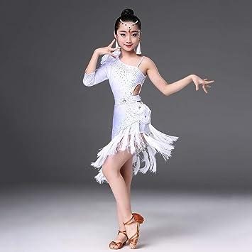 Amazon.com: Childrens Dance Costumes, Girls Bright Tassels ...