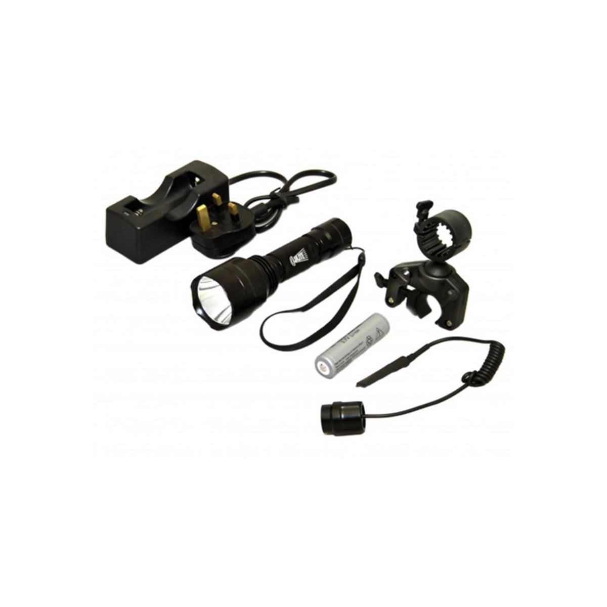 Clulite Pro Scanner 1000 Lumen LED Geschützlicht Wiederaufladbar
