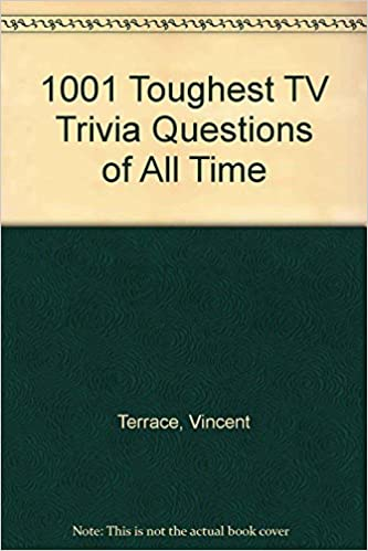 Buy 1001 Toughest TV Trivia Questions of All Time Book Online at Low