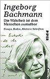 img - for Die Wahrheit ist dem Menschen zumutbar: Essays, Reden, Kleinere Schriften (German Edition) book / textbook / text book