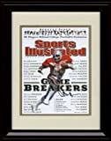 Framed Archie Griffin Game Breakers Sports Illustrated Autograph Replica Print - Ohio State